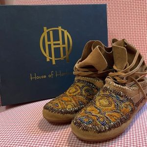 NIB House of Harlow 1960 moccasins size 7